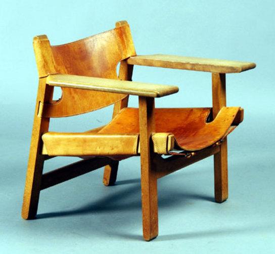 Borge Mogensen Spanish Chair - SOLD