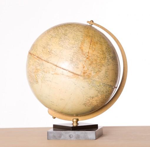 IA398 vintage desk globe