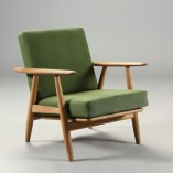 L1456 Wegner Cigar Chairs in oak x 2 GE240 g square