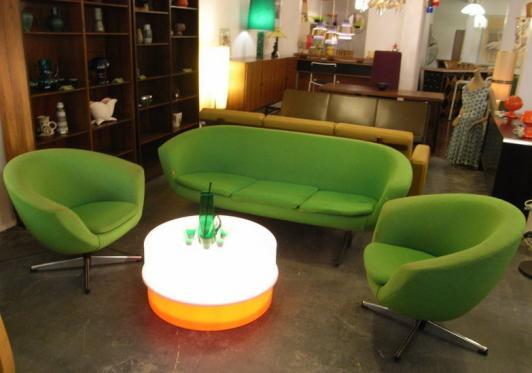 Ilumesa coffee table by Verner Panton for Louis Poulsen
