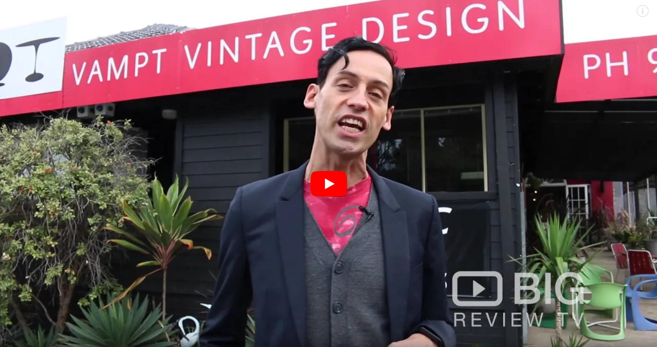 Vampt Vintage Design a Vintage Shop in Sydney offering vintage Furniture